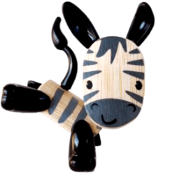 Zebra at Hape Toys