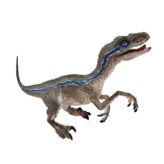 Blue Velociraptor Action Figure