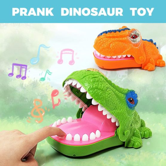 Fun Dinosaur Biting Finger Party Game