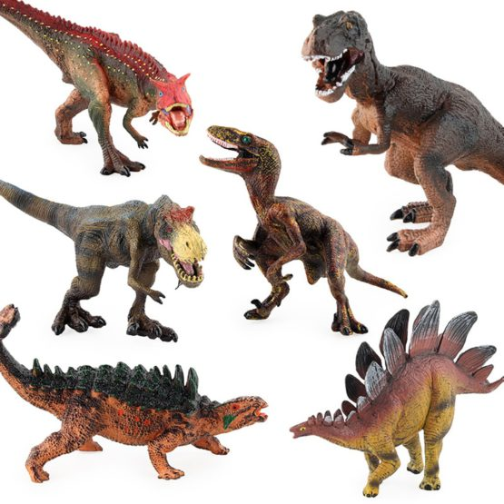 Simulated Dinosaur Action Figures