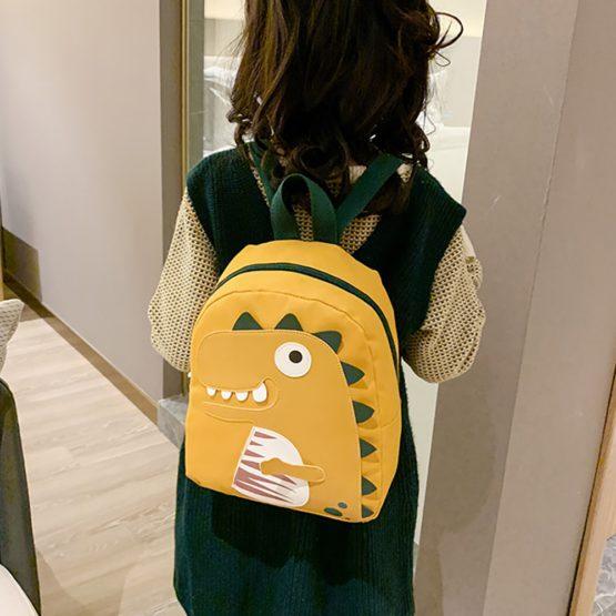 Cartoon Dinosaur Backpack for Kids