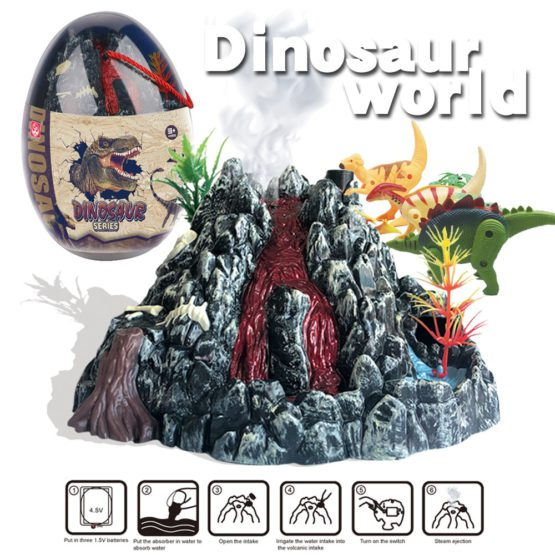Jurassic World Volcano Eruption Kit