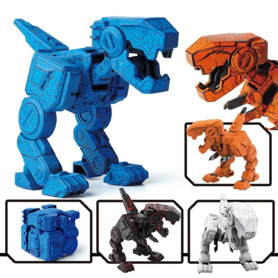 Transformation Dinosaur Cube Toy